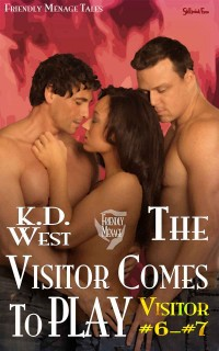 The Visitor Comes to Play cover (MMF menage a trois)